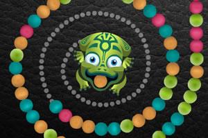 小青蛙玩祖玛