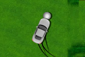 汽车推高尔夫球