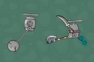 空中机器人决斗