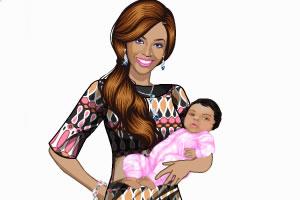 碧昂丝和她的孩子