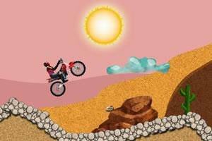 沙漠摩托车