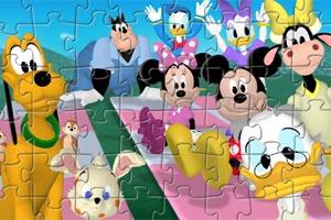 迪士尼人物拼图