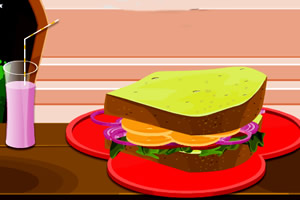 美味可口三明治