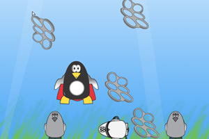 超级企鹅救同伴