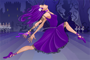 狂欢的芭蕾舞者
