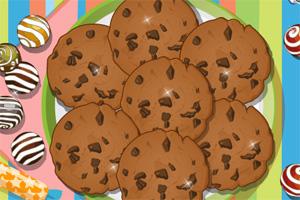 巧克力饼干制作