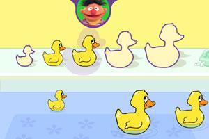 小鸭子排排队