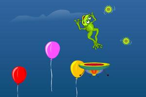 青蛙破气球