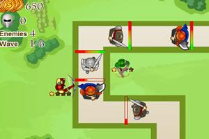 城堡塔防战