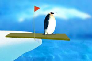 企鹅跳水比赛