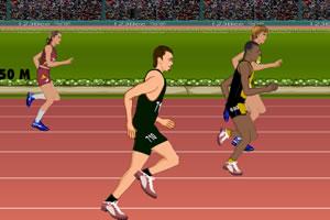 伦敦百米比赛