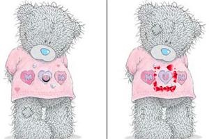 爱心小熊来找茬