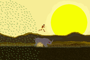 非洲野人快跑