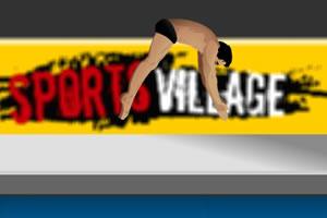 运动村的跳水冠军