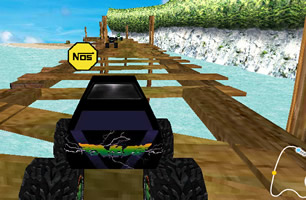 3D大脚车竞速赛