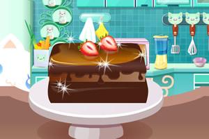 双层巧克力蛋糕
