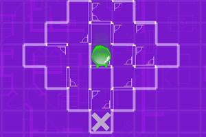 绿圆兽闯迷宫