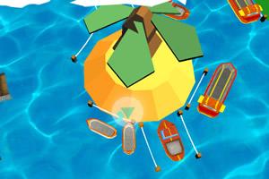 3D小船停靠无敌版