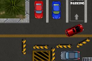 停车场抢车位