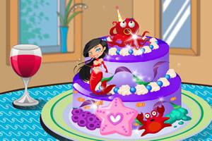 漂亮美人鱼蛋糕