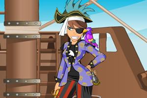 女海盗的装扮