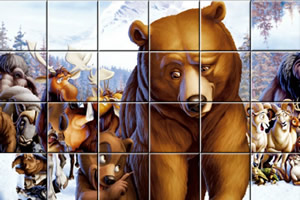 熊的传说拼图