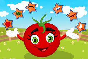 可爱的西红柿