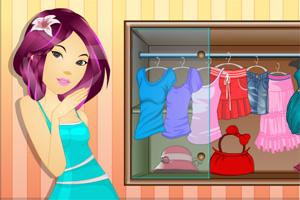 女孩服饰店