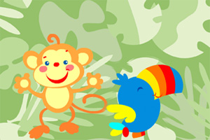 雨林小动物2