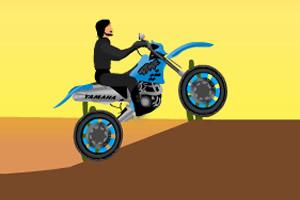 大叔骑摩托