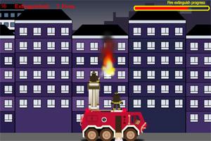 消防队灭火