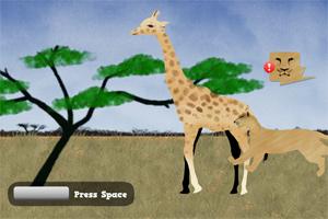 保护长颈鹿
