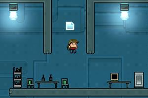 男孩实验室逃亡