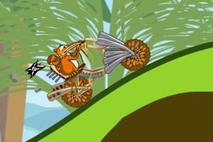 斯克莱特骑摩托