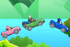 动画明星赛车
