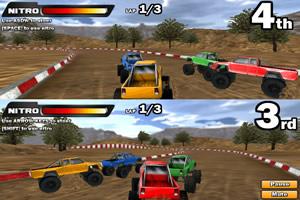 3D双人四驱车赛