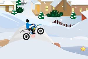 冬季雪地摩托