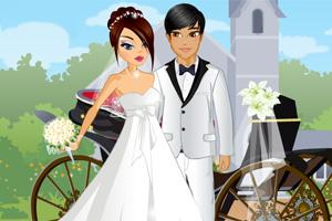 别致的马车婚礼