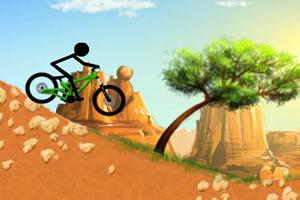 火柴人沙漠自行车