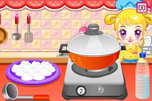 阿Sue做饺子