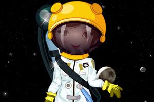 帅气的宇航员