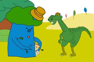 恐龙与小孩