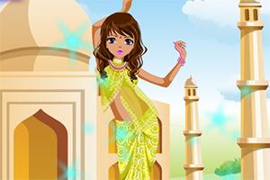 美丽的印度姑娘