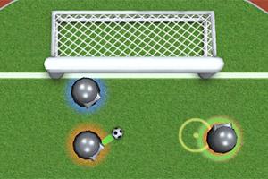 悬浮机器人足球赛