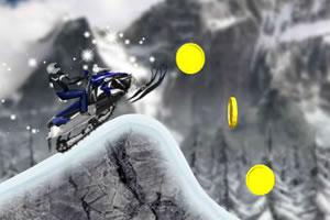 雪地越野摩托车