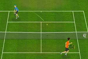 青年网球赛
