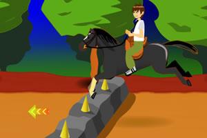 少年骇客学骑马