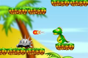 天上掉下小恐龙