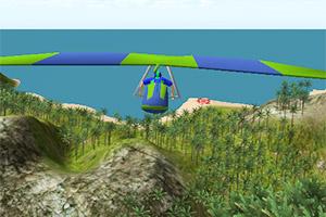 3D滑翔机试飞2