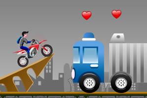 疯狂特技摩托赛